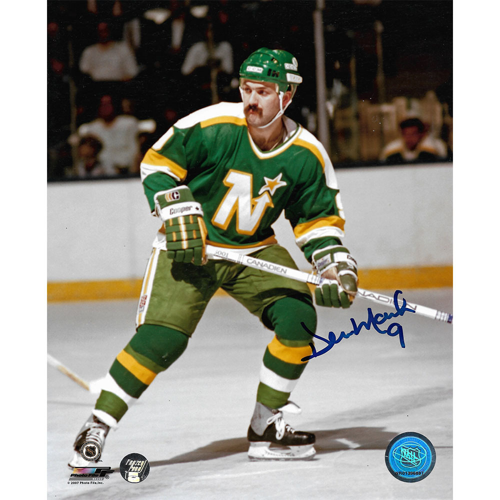 Denis Maruk Autographed Minnesota North Stars 8X10 Photo