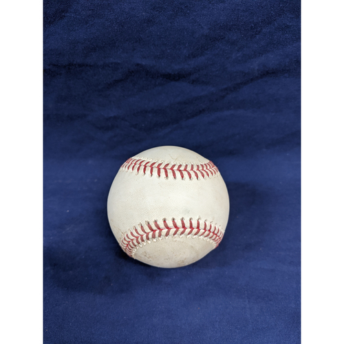 Photo of Game Used Baseball: Pitcher: Hyun-Jin Ryu, Batter: Trevor Story - Ball - Top 3 - 9-22-2019 vs. COL