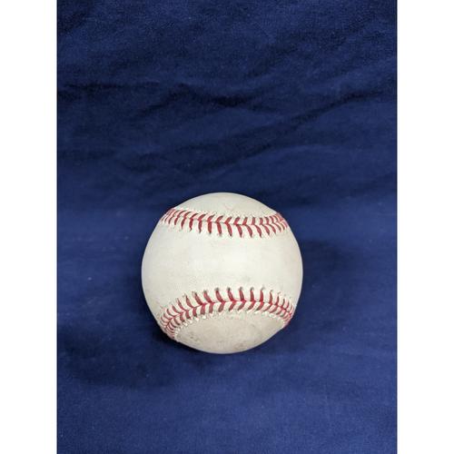 Game Used Baseball: Pitcher: Hyun-Jin Ryu, Batter: Trevor Story - Ball - Top 3 - 9-22-2019 vs. COL