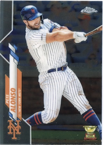 Photo of 2020 Topps Chrome #80 Pete Alonso