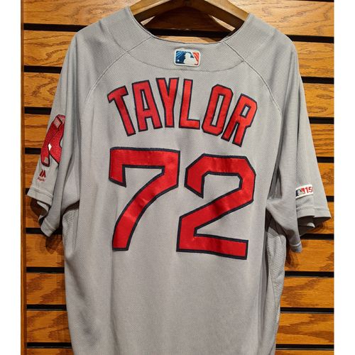 Photo of Josh Taylor #72 Game Used Road Gray Jersey
