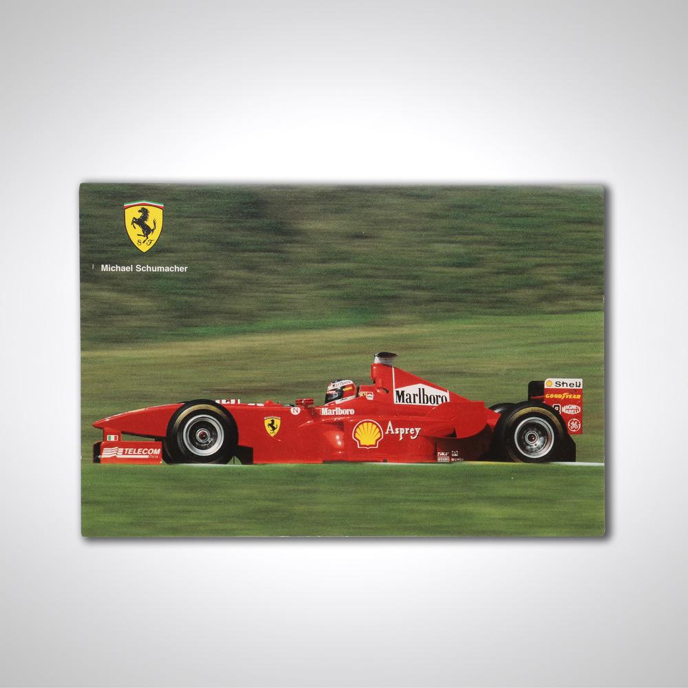 Official Ferrari 1998 Card