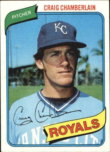Photo of 1980 Topps #417 Craig Chamberlain DP RC