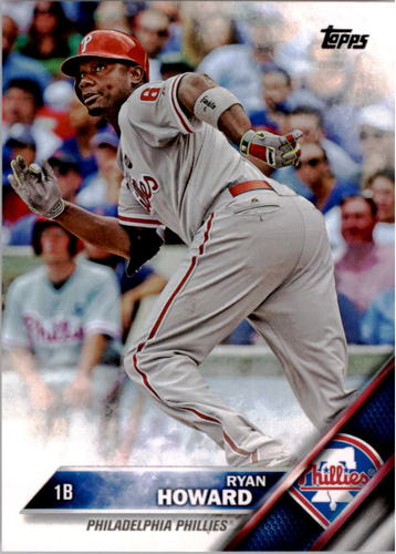 Photo of 2016 Topps #15 Ryan Howard