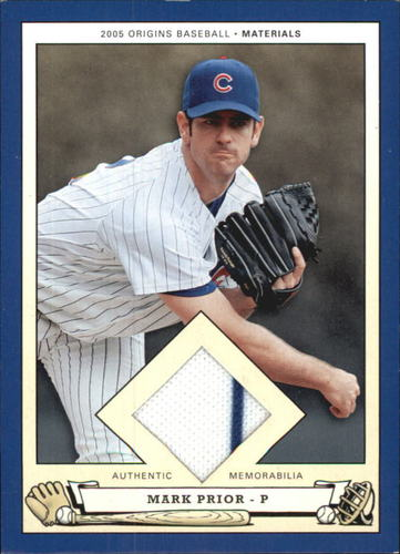 Photo of 2005 Origins Materials Jersey #MP Mark Prior