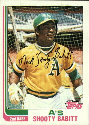 Photo of 1982 Topps #578 Shooty Babitt