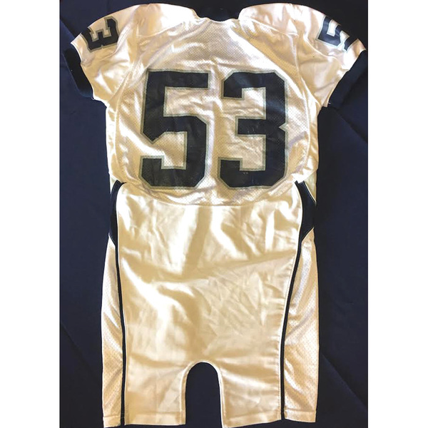 new concept 84661 d7a23 Georgetown Official Auctions | Georgetown Football Jersey ...