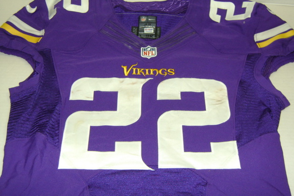 uk availability a943c adfd6 NFL Auction | BCA - VIKINGS HARRISON SMITH GAME WORN VIKINGS ...