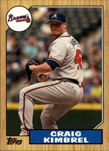 Photo of 2012 Topps 1987 Topps Minis #TM17 Craig Kimbrel -- Red Sox post-season