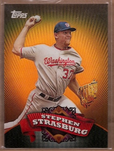Photo of 2010 Topps Chrome Target Exclusive Refractors #BC1 Stephen Strasburg
