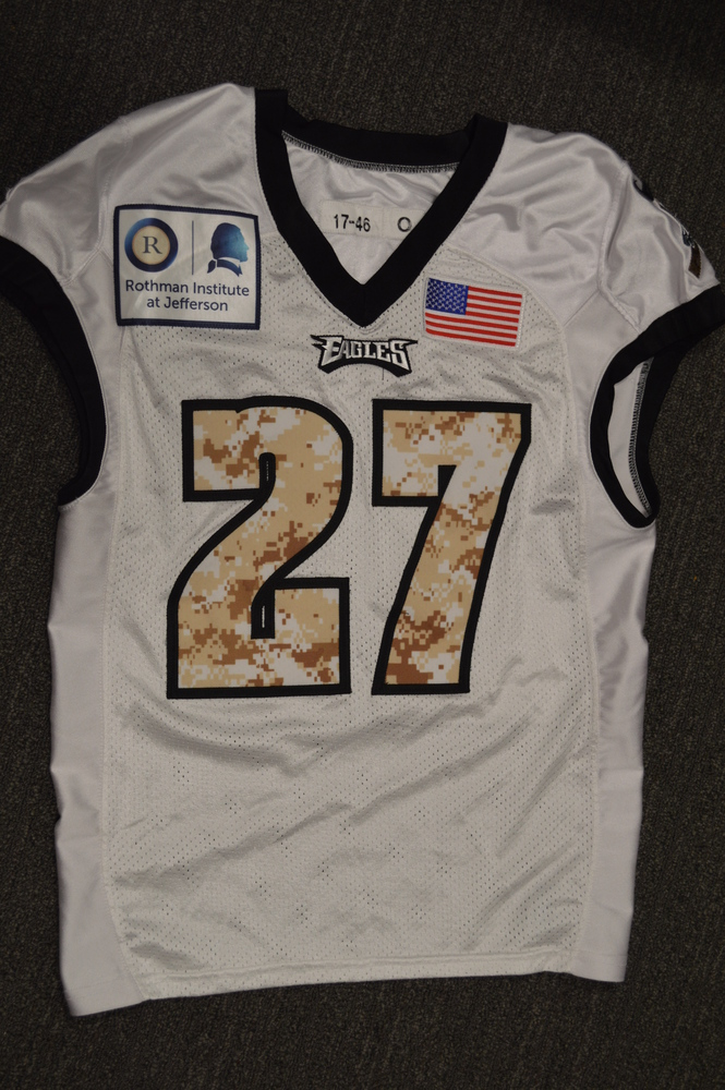 wholesale dealer 2325c e1e3b NFL Auction | EAGLES - MALCOLM JENKINS SALUTE TO SERVICE ...