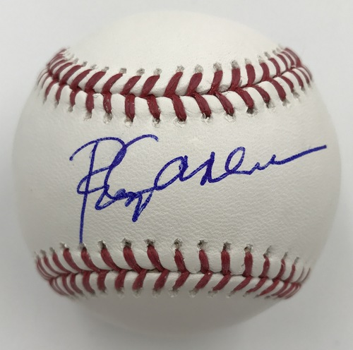 Photo of Rod Carew Autographed Baseball