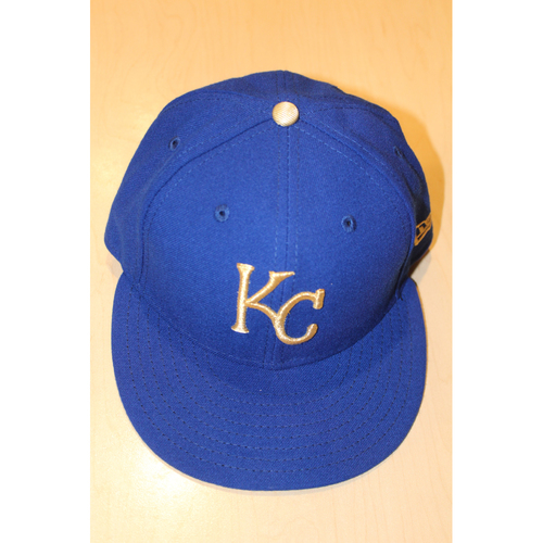 Game-Used Cap: Mike Minor (ARI at KC - 9/29/2017)