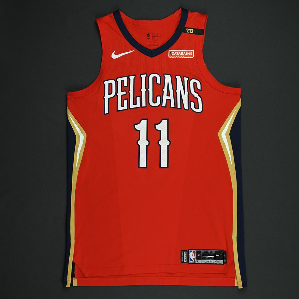 Jrue Holiday - New Orleans Pelicans - 2018 NBA Playoffs Game-Worn Statement Jersey