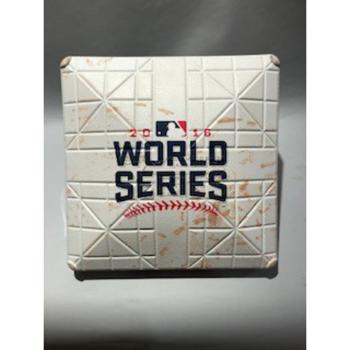 Photo of 2016 World Series Base - 3rd Base used in innings 1-2 of Game 2 - 10/26/16