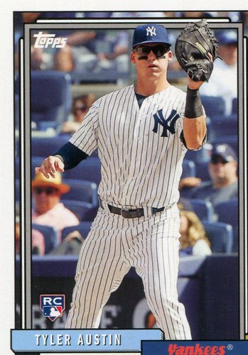 Photo of 2017 Topps Archives #215 Tyler Austin Rookie Card