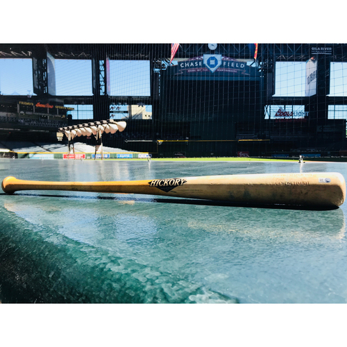 Photo of 2018 June Player of the Month: Paul Goldschmidt Game-Used Brokten Bat - 6/30/18