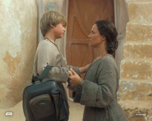 Anakin Skywalker and Shmi Skywalker