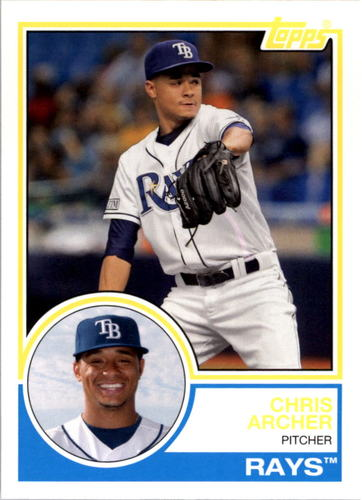 Photo of 2015 Topps Archives #294 Chris Archer