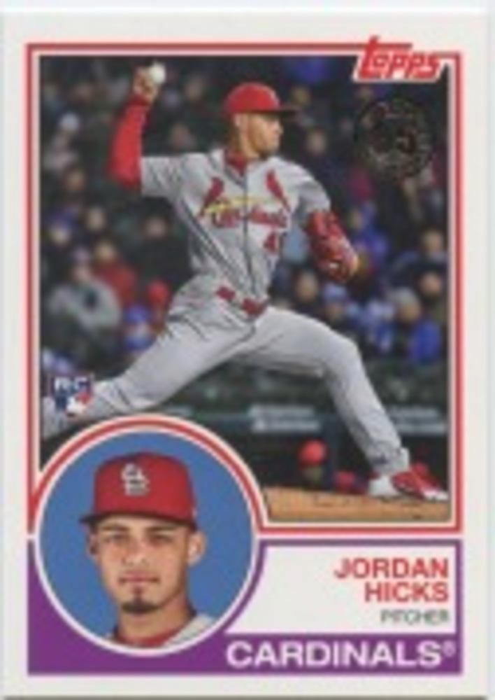 2018 Topps Update '83 Topps #834 Jordan Hicks