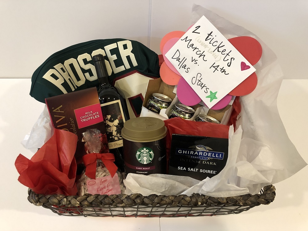 Nate & Brittani Prosser Favorite Things Basket