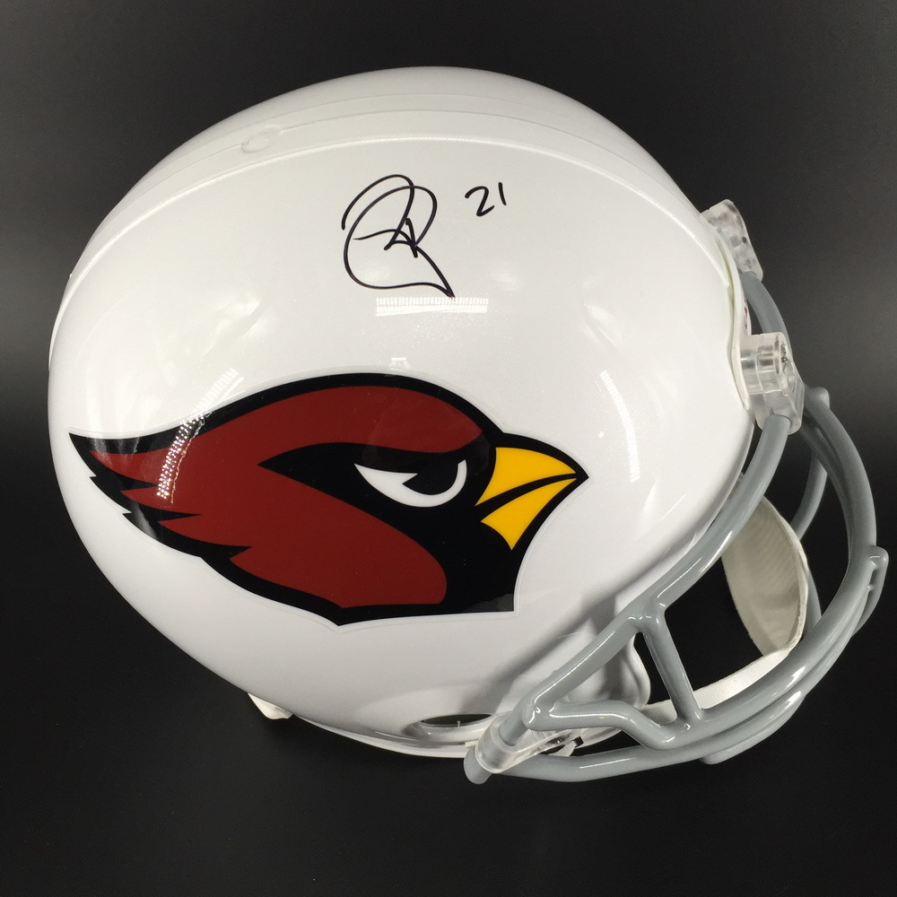 Cardinals - Patrick Peterson Signed Replica Helmet