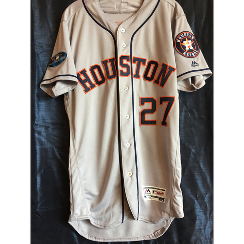 Photo of Jose Altuve 2018 Game-Used ALCS Game 2 Jersey
