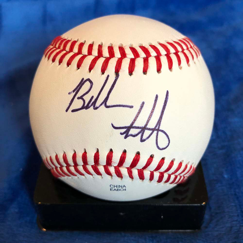 UMPS CARE AUCTION: Bubba Watson Signed Baseball
