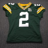 Crucial Catch - Packers Mason Crosby Signed Game issued Jersey Size 50 w/ 100 Seasons Patch