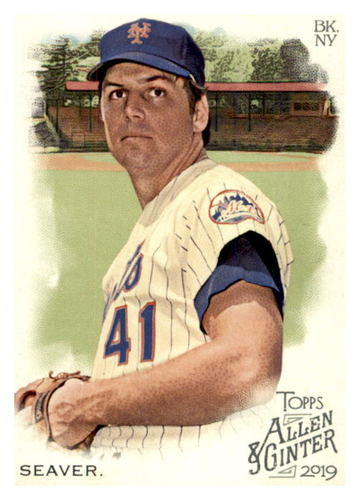 Photo of 2019 Topps Allen and Ginter #394 Tom Seaver SP