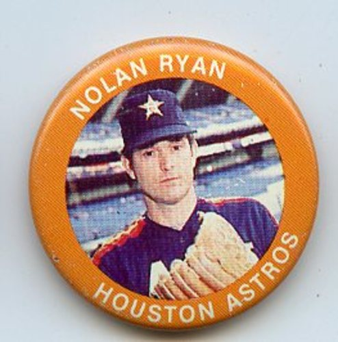 Photo of 1984 Fun Foods Pins #109 Nolan Ryan