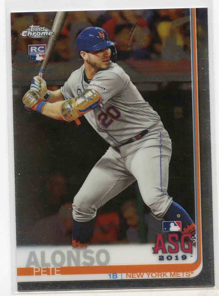 2019 Topps Chrome Update #86 Pete Alonso All Star