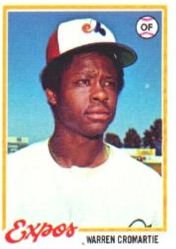 Photo of 1978 Topps #468 Warren Cromartie RC