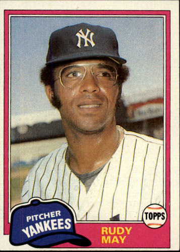 Photo of 1981 Topps #179 Rudy May