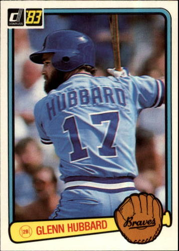 Photo of 1983 Donruss #184 Glenn Hubbard
