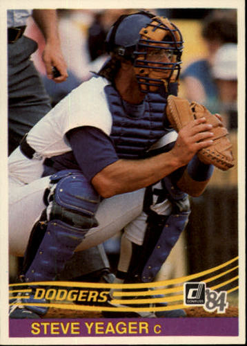 Photo of 1984 Donruss #581 Steve Yeager