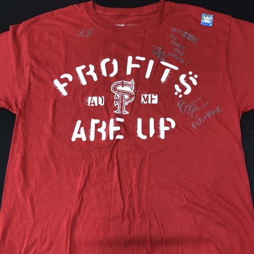 Photo of Street Profits and Bianca Belair SIGNED T-Shirt