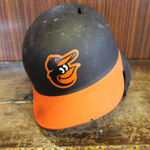 Anthony Santander - Road Batting Helmet: Team-Issued