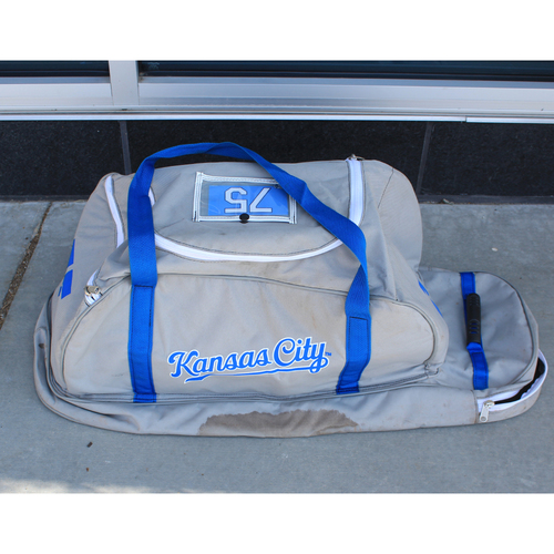 Photo of Game-Used Spring Training Bag: Jeison Guzman #75