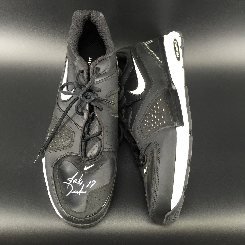 Panthers - Jake Delhomme Signed Sneakers