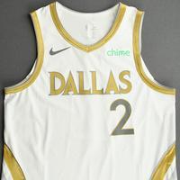 Tyler Bey - Dallas Mavericks - Game-Worn - City Edition Jersey - Dressed, Did Not Play (DNP) - 2020-21 NBA Season