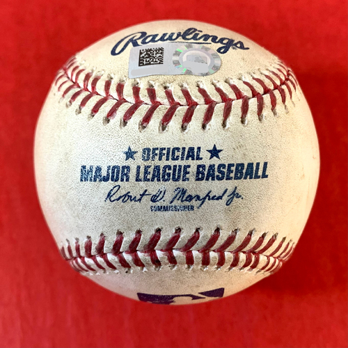 Photo of Game-Used Baseball - Ty France HOME RUN vs. Alex Young - Mariners @ D-backs 9/11/2020