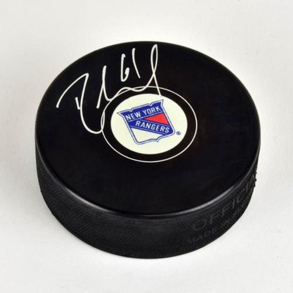 Rick Nash New York Rangers Autographed Hockey Puck
