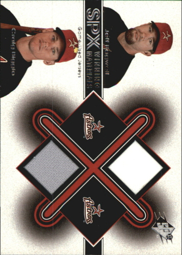 Photo of 2001 SPx Winning Materials Update Duos #JBCB Jeff Bagwell/Craig Biggio