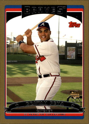 Photo of 2006 Topps Gold #318 Brayan Pena