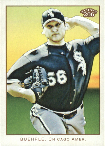 Photo of 2009 Topps 206 #238 Mark Buehrle