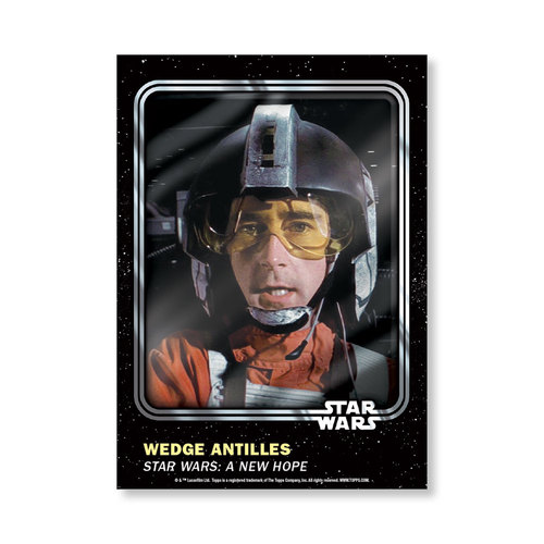 Wedge Antilles 2016 Star Wars Card Trader Base Poster - # to 99