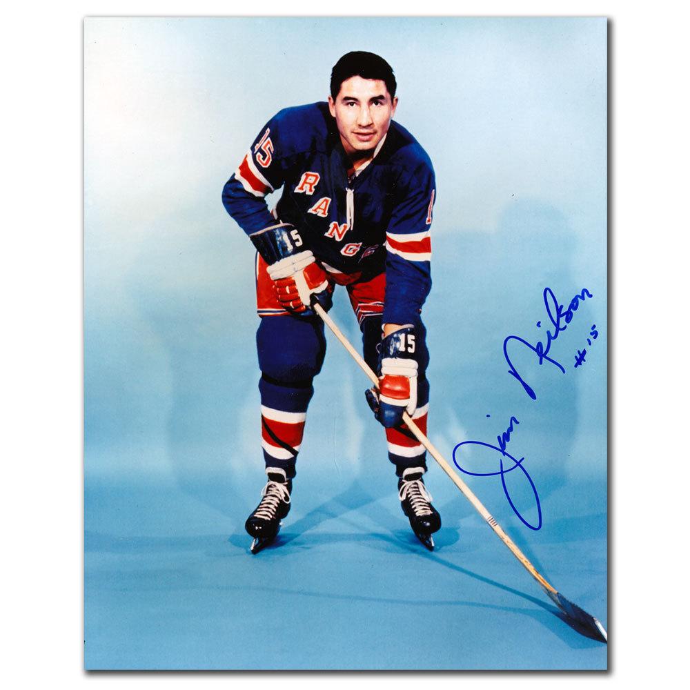 Jim Neilson New York Rangers Autographed 8x10
