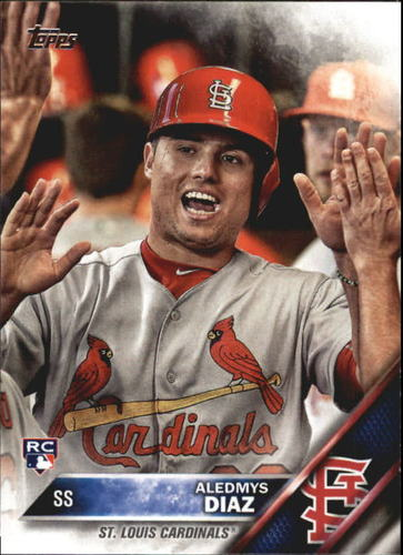 Photo of 2016 Topps Update #US292A Aledmys Diaz Rookie Card