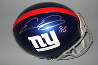 NFL - GIANTS EVAN ENGRAM SIGNED GIANTS PROLINE HELMET (SIGNED ON EACH SIDE)